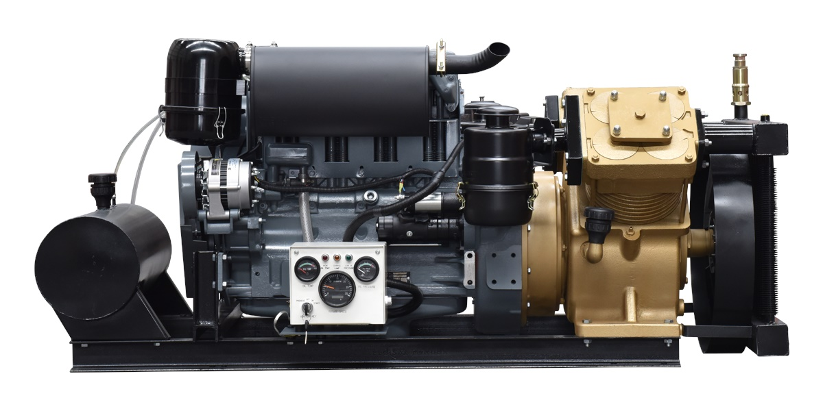 G220-2 Air Compressor with New Diesel Engine
