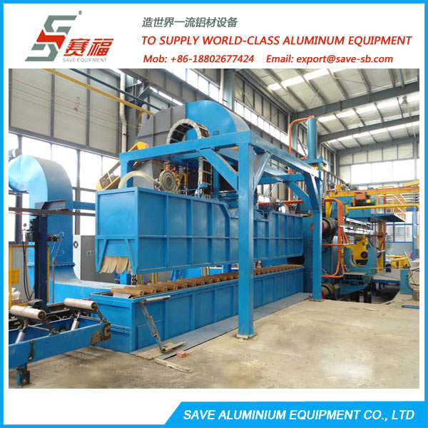 aluminium extrusion air cooling quench