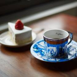 Luycho Mirror Cup & Saucer - Polar Bear