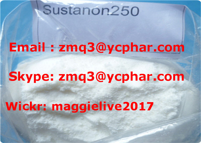 Anabolic Steroid Powder Sustanon 250 Test Blend for Muscle Building