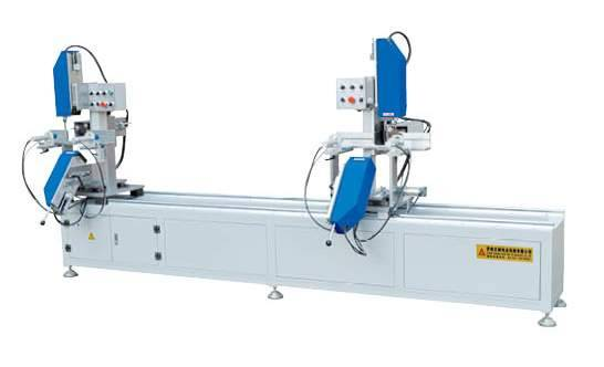 PVC profile Two-head water-slot milling machine