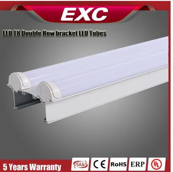 led t8 tube light with high quality PC end cap