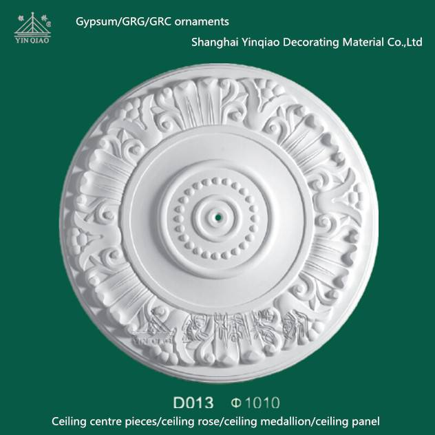 Chinese Cheap gypsum decorative ceiling medallions