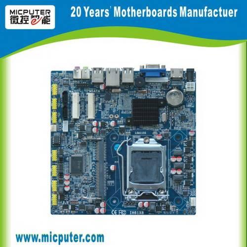 I38 ITX M61X21G Intel H61 2COM,1Giga lan,HDMI+VGA,12V DC LGA1155 Intel H61 ITX Motherboard