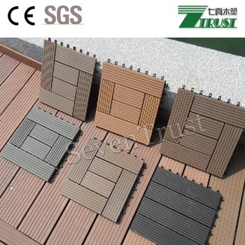 WPC no formaldehyde nice touch outdoor DIY decking