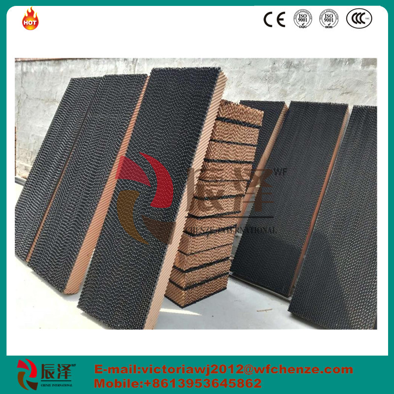 Evaporative cooling pad,color pad,wet pad