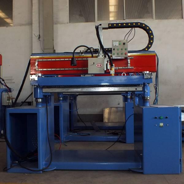 Plasma welding straight welding machine for galvanized steel tank