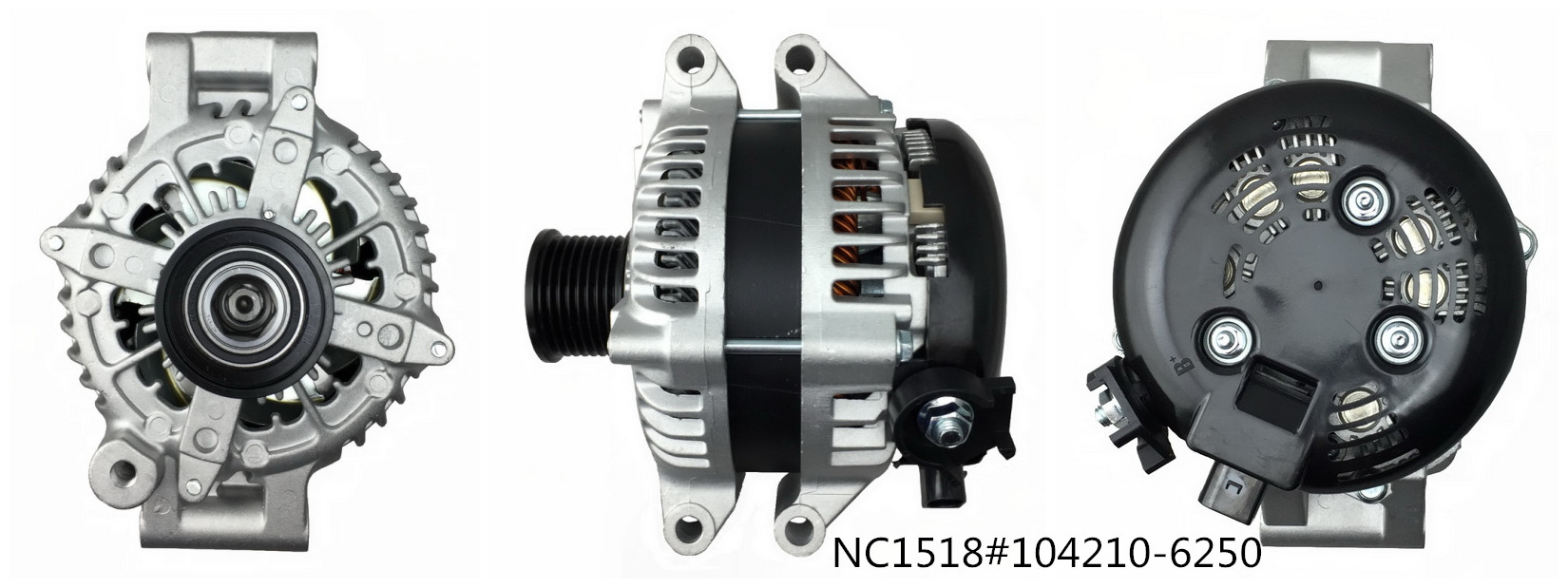 Hairpin Alternators NC1518(12V 210A, 104210-6250)