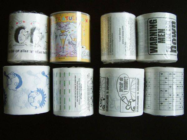 Individually Wrapping printed Toilet Tissue Paper Roll