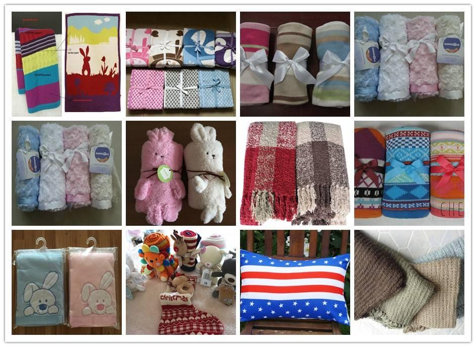 Hand woven blankets