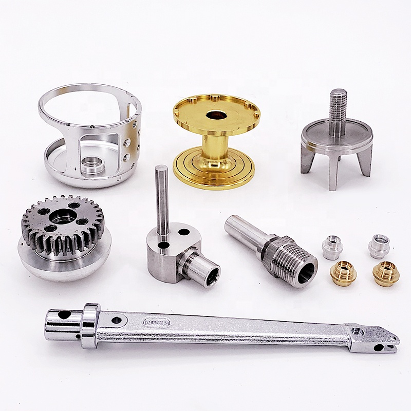 stainless steel aluminum CNC machined parts