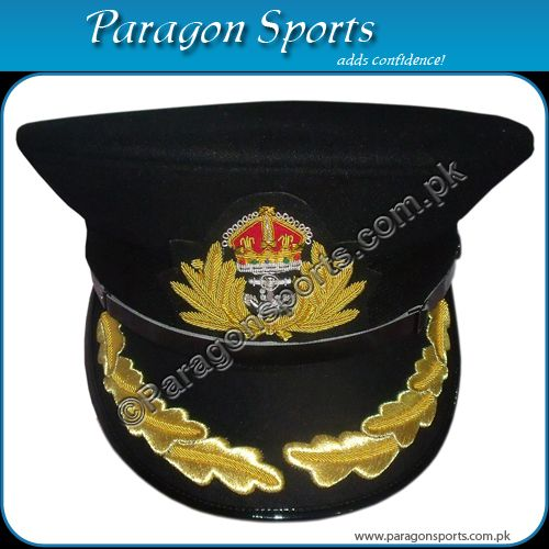 WW2-British-Royal-Navy-Commanders-Peaked-Cap-PS-9079