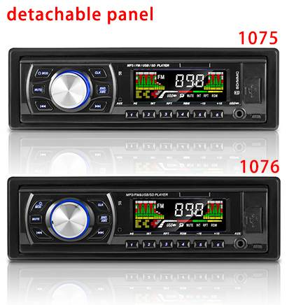 CAR MP3 PLAYER, with bluetooth, support cd,USB, SD, MMC Card, LCD Display