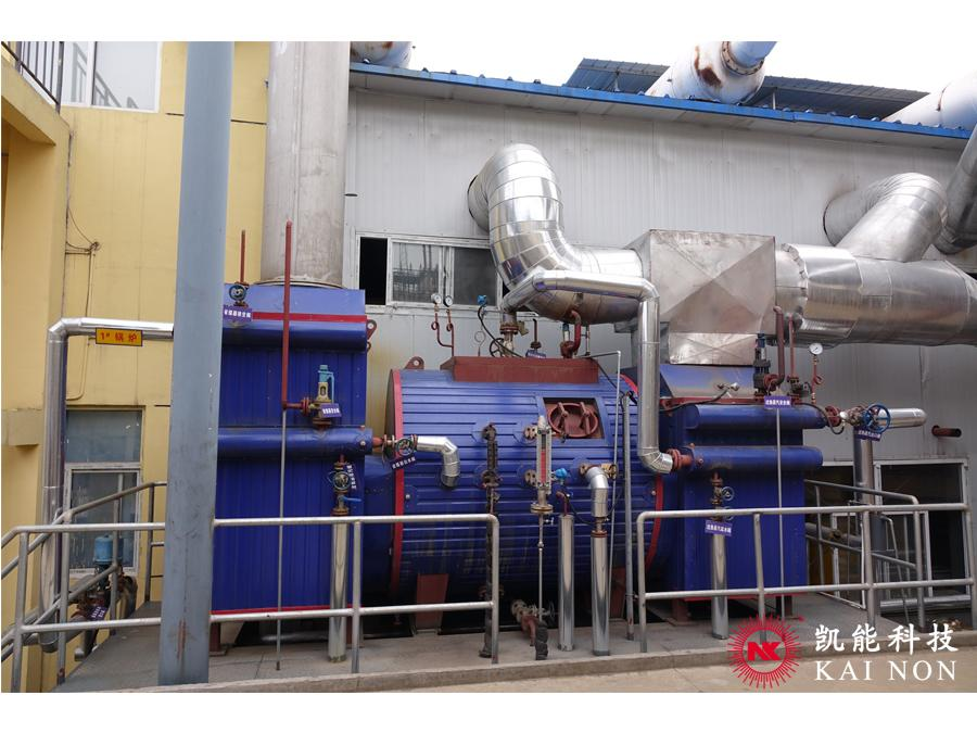 Waste Heat Recovery Boiler With Economizer for Power Generation