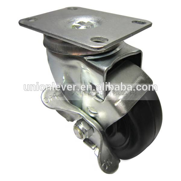 2135 plate type brake caster series