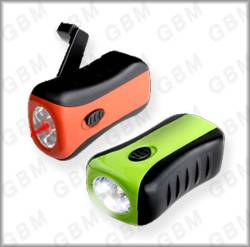 Laser Dynamo Flashlight