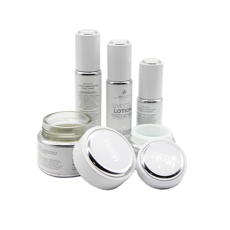wholesale 20ml 30ml 50ml 100ml best empty aluminum skin cream cosmetic pump bottles packaging