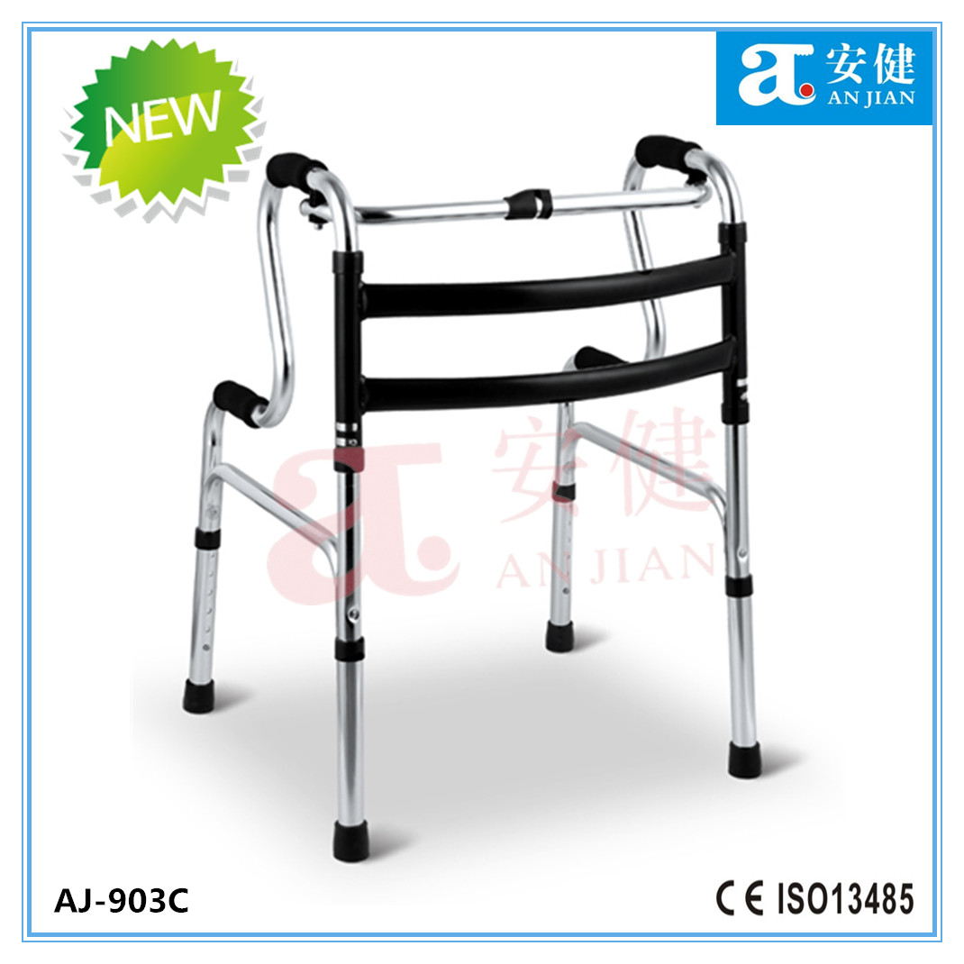 aluminum height adjustable walking aids