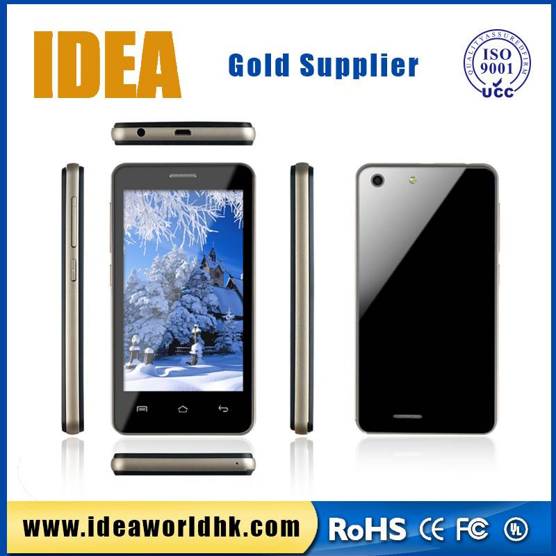 4 inch cheapest touch screen 3g wcdma gsm dual sim smart phone