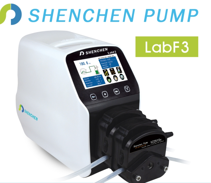 laboratory liquid transfer multichannel peristaltic pump labf3
