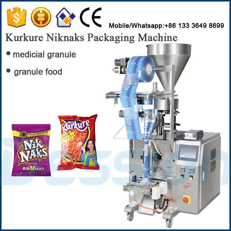 Small cup dosing system for Niknaks package solution