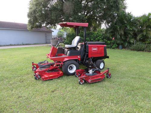 Toro Groundsmaster 4000D Batwing 11 ft Rotary Mower WAM 1857 hrs 4 wheel drive