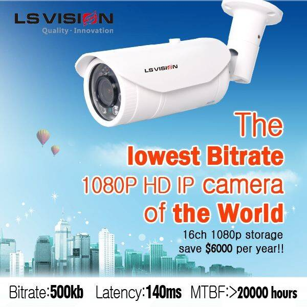 LS VISION network camera/hd ip camera ir outdoor security cameras megapixel outdoor ip camera