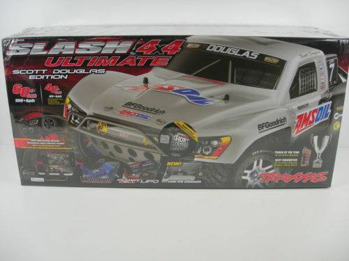 New Traxxas Slash 4wd Ultimate Low Center of Gravity Lipo 5000mAh #7 Body 6807L