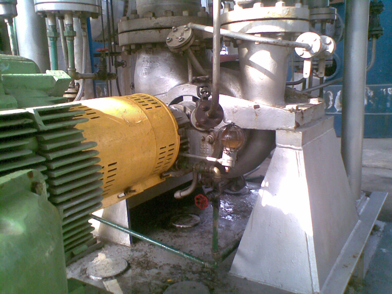 VBBS horizontal, single stage, double suction, radially split pump