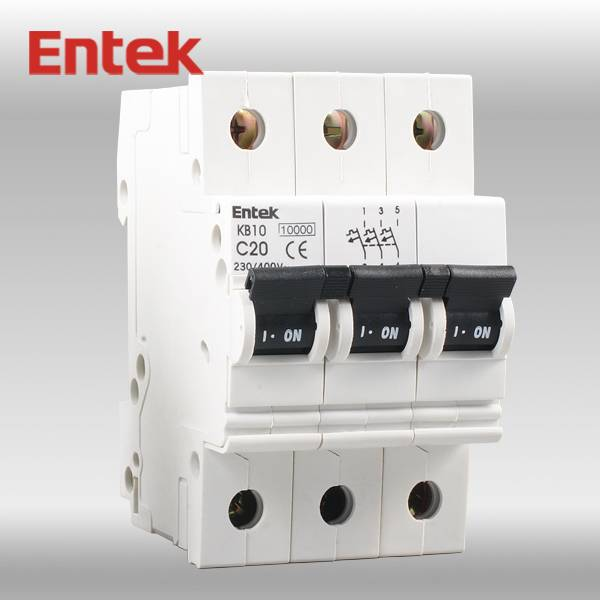 Miniature Circuit Breaker CE MCB 3P 40A