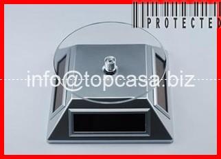 Rotating Solar Powered Display Turntable