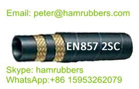 DIN EN857 2SC Wire Braided Hydraulic Hose