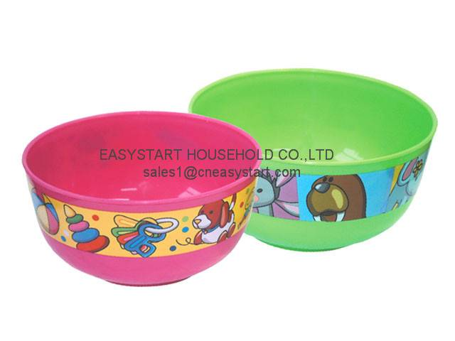 HIgh quality plastic bowl,large cereal bowl, colorful jumbo bowl