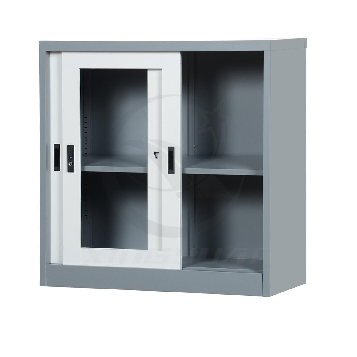 Luxury corner knock-down shoe small cabinet with sliding door