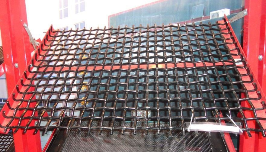 Crimped wire mesh, for mining, coal, petrochemical