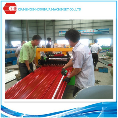 roof sheet forming machine