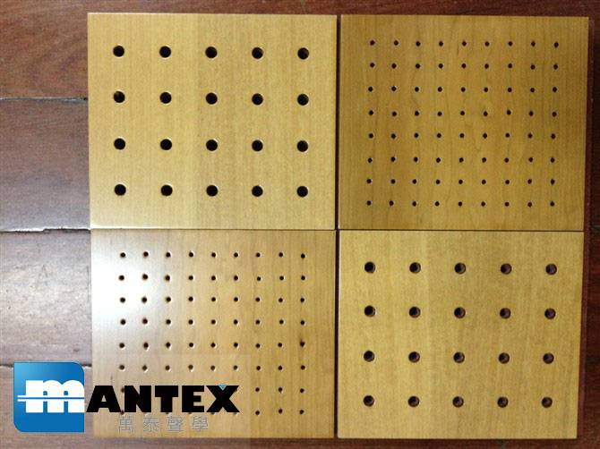 Perforated Acoustic Panel MDF Acoustic Panels