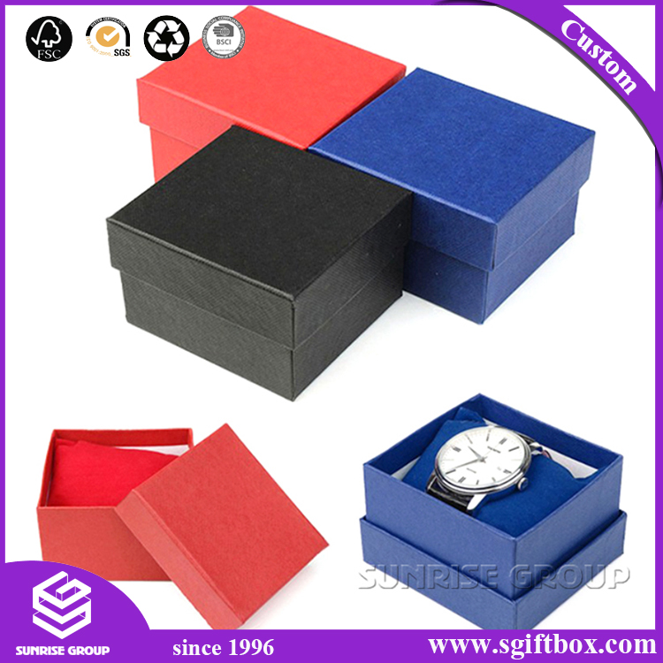 Custom Logo Printed Display Box Cardboard Watch Box