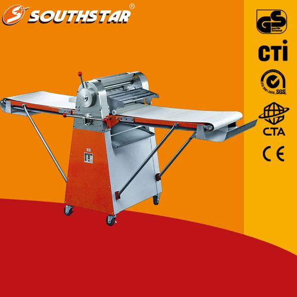 China Supplier Low Noise 520 Desktop Dough Sheeter For Pastry Used