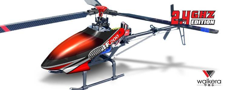 Walkera HM 4F200 Electrical RC Helicopter