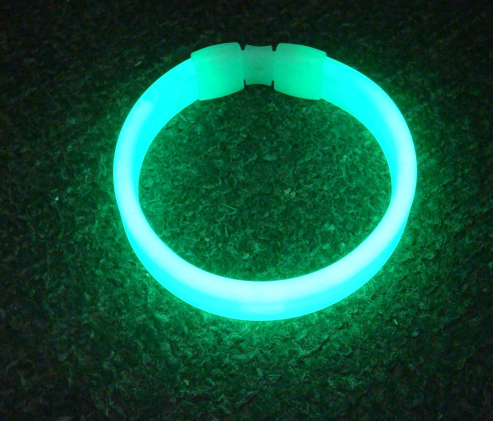 party supply triple wide glow bracelet bangle