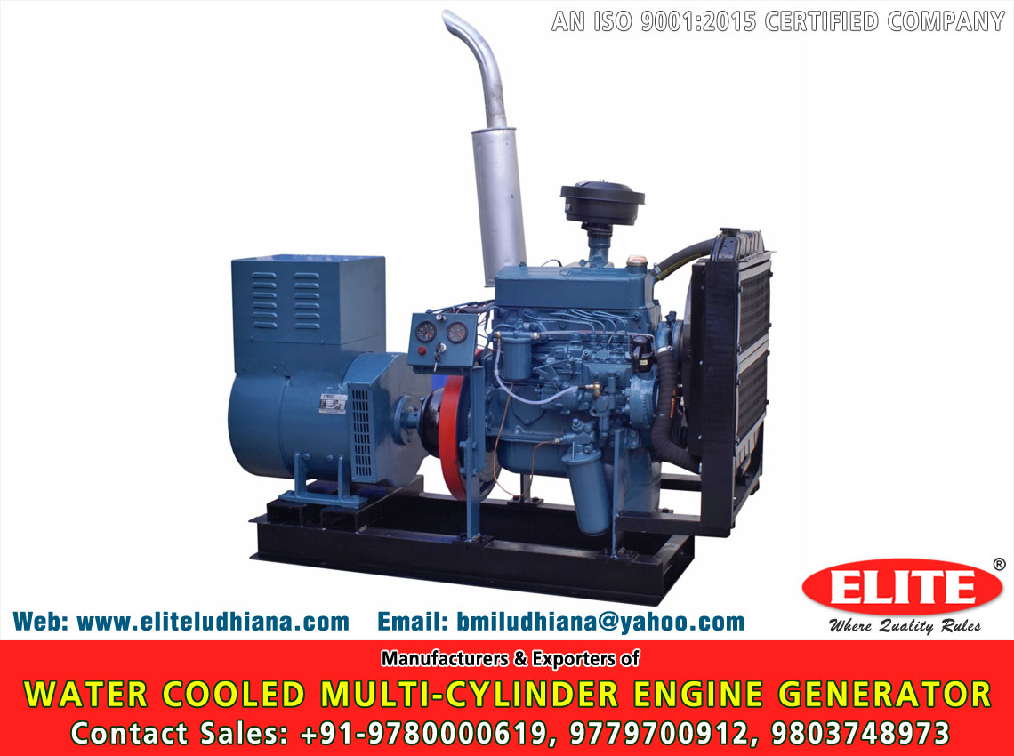 Water Cooled Multi Cylinder Engine