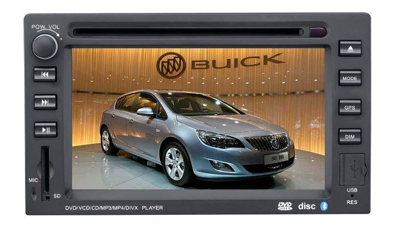 6.2 inch Car GPS DVD Player for Buick Excelle (Digital screen)