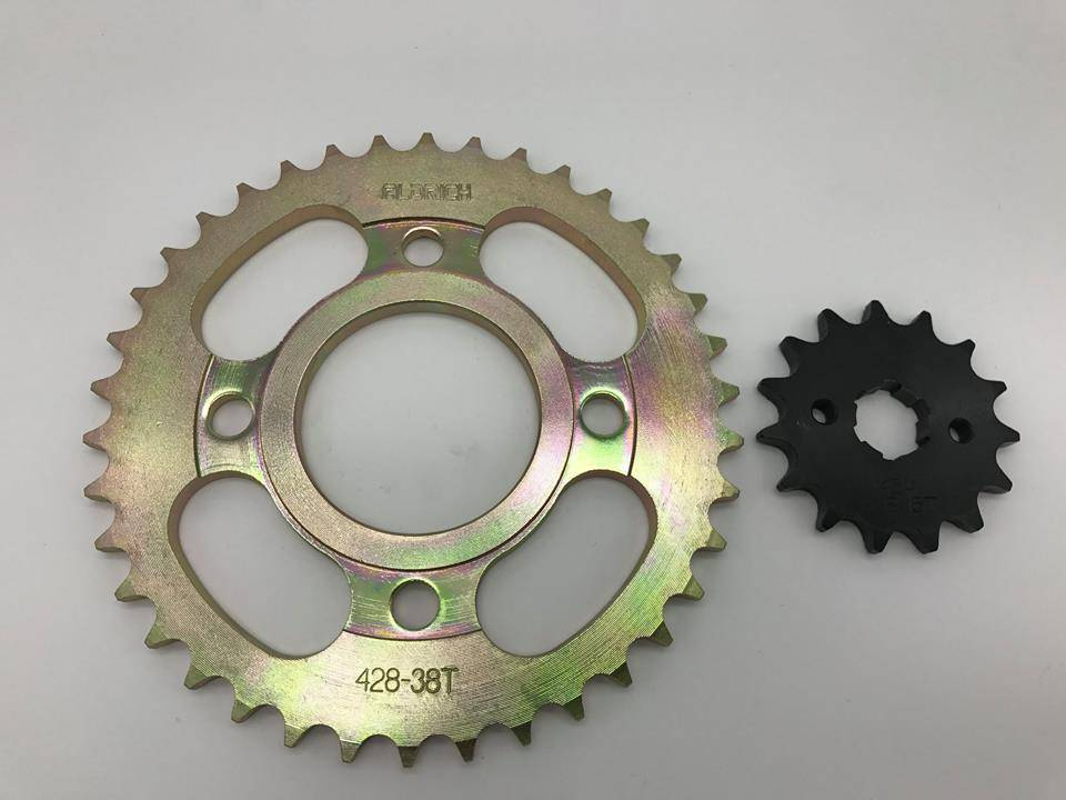 ALDRICH FOR CG125 SPROCKETS, A QUALITY!