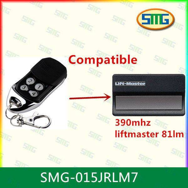 remote control compatible 390mhz liftmaster 81lm