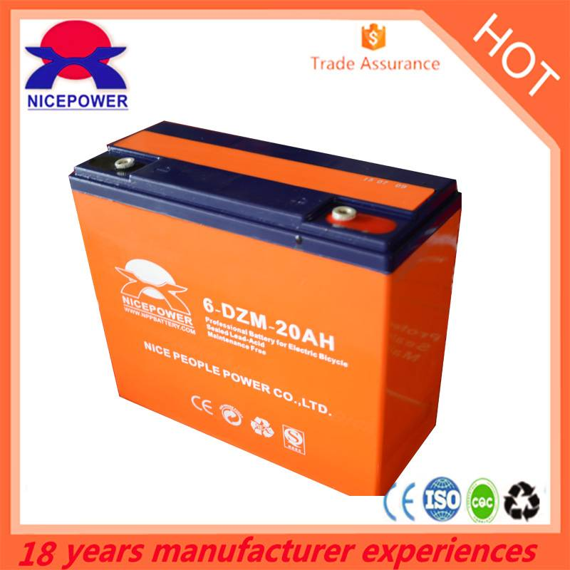 12v  20ah  Low Self Discharge batteries with good price