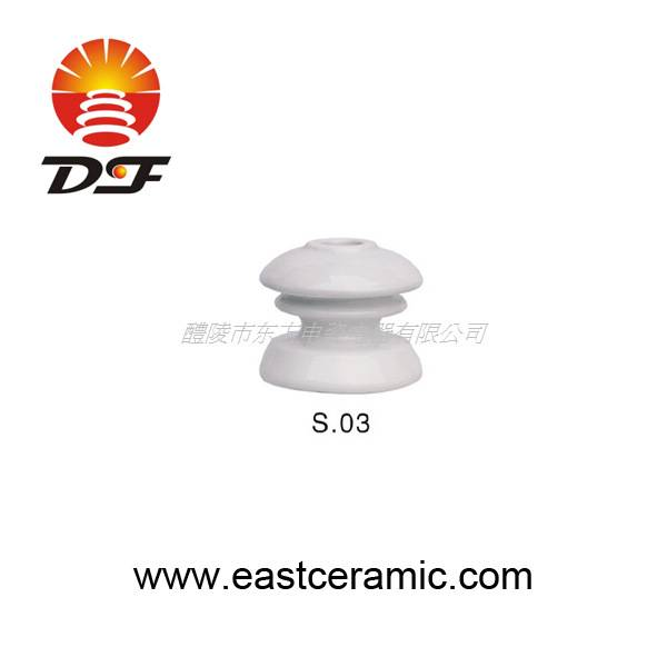 S.03 porcelain shackle insulator