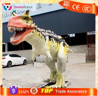 Trade show equipment Dinosaur Animatronics Carnotaurus