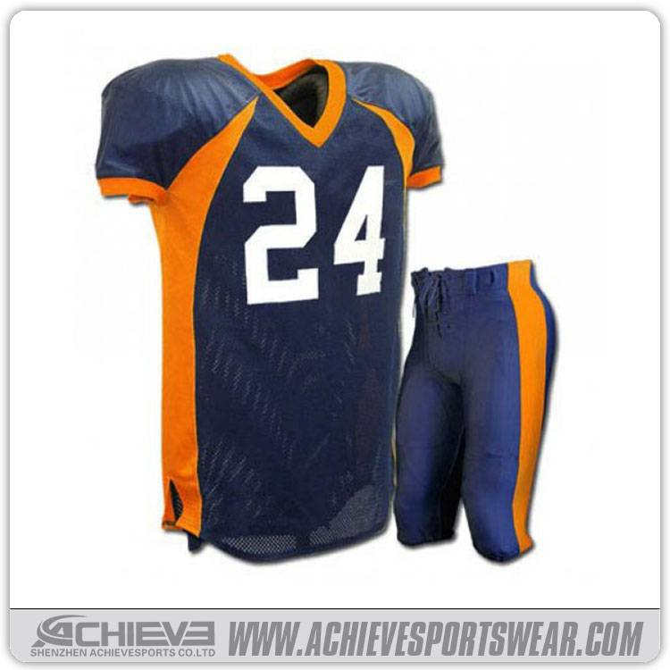 Wholesale customized american football jersey sublimation american football uniforms