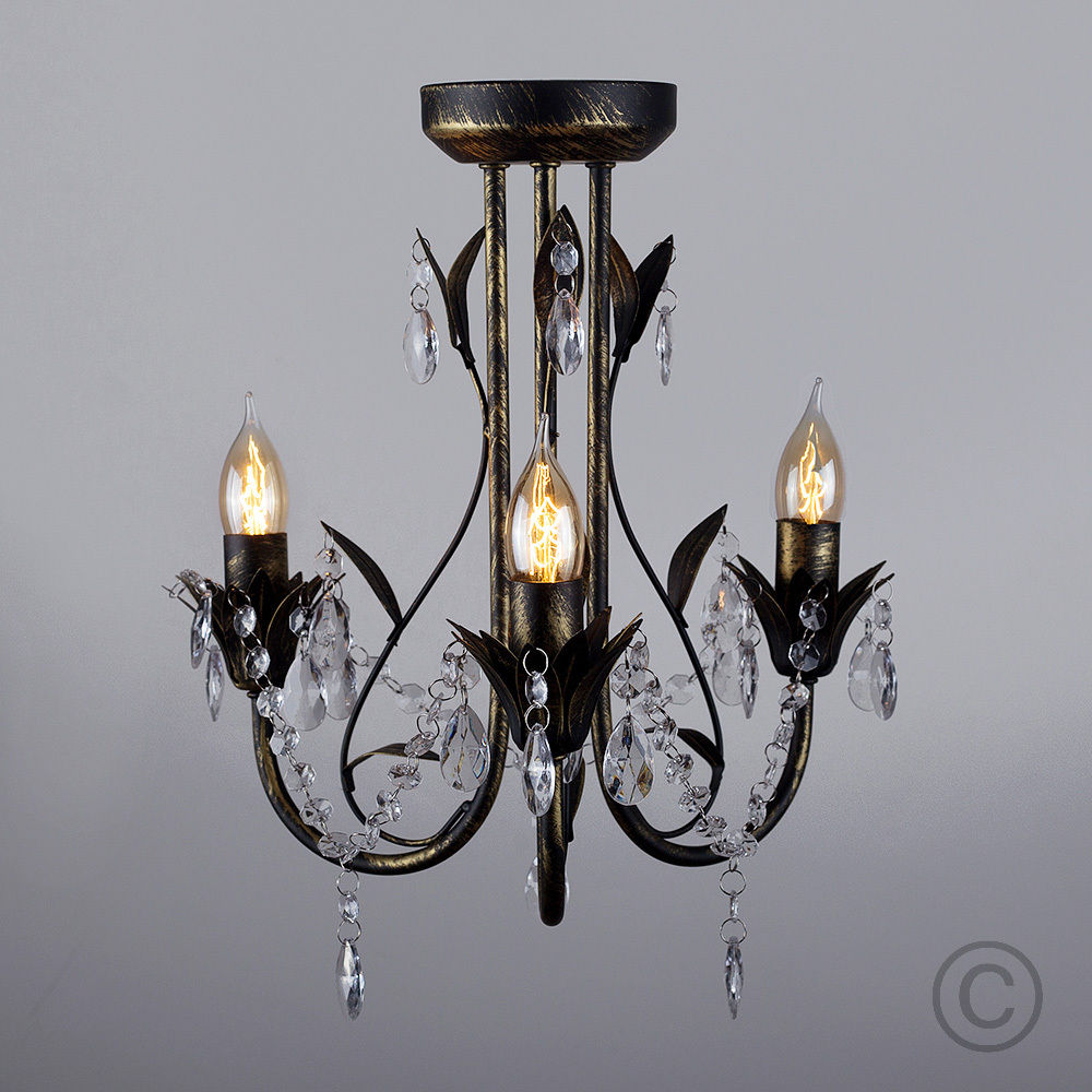 factory direct sale brushed aluminium vintage lighting modern chandelier